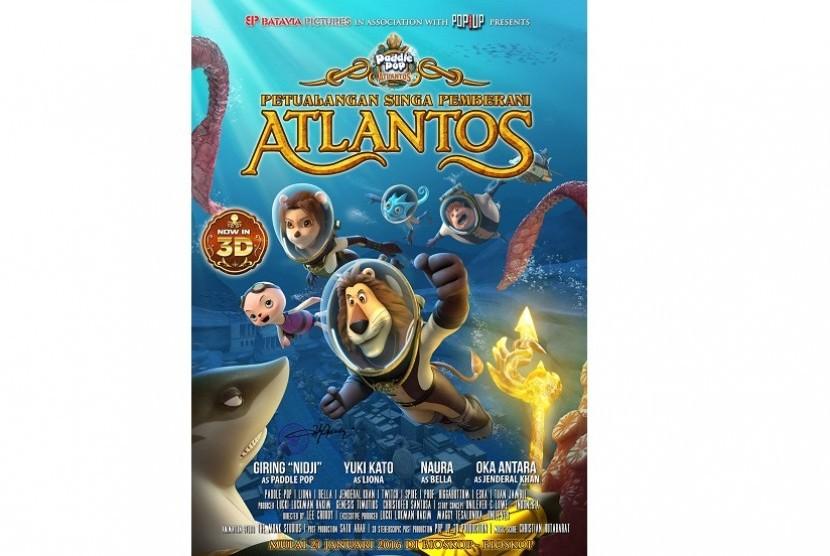 Poster 'Petualangan Singa Pemberani Atlantos'