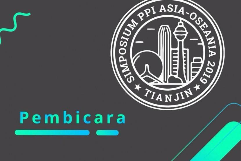 Poster Simposium Pelajar Indonesia se-Asia Oseania yang digelar PPI Tiongkok.