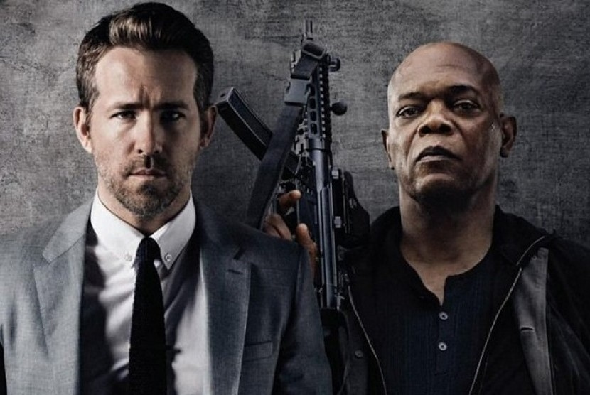 Poster The Hitman's Bodyguard.