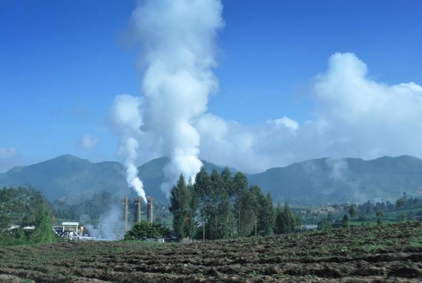 Potensi panas bumi Gunung Ungaran.