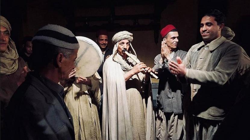 Empat Film Arab yang Direkomendasikan untuk Oscar 2022. Potongan adegan dalam fil Heliopolis. Heliopolis dipilih untuk kedua kalinya mewakili Aljazair di ajang Oscar.