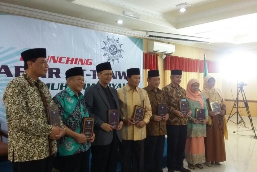 PP Muhammadiyah meluncurkan tafsir At Tanwir, Selasa Kemarin.