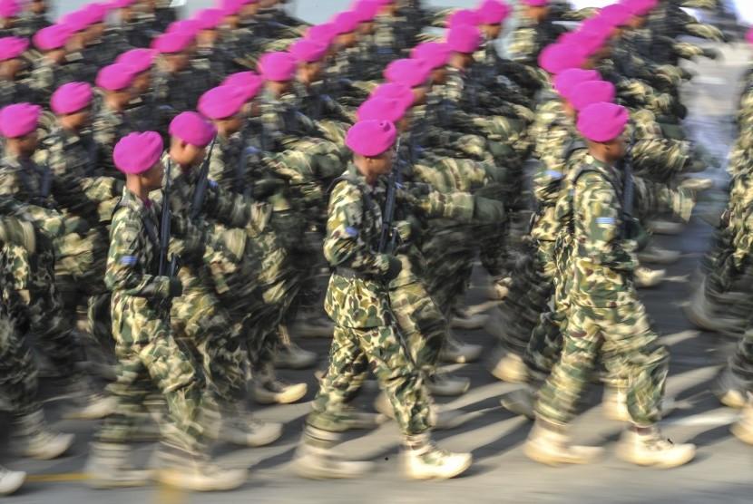 Prajurit Korps Marinir TNI AL