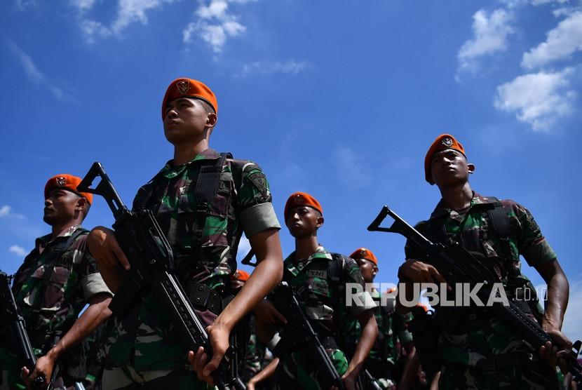 Prajurit Paskhas TNI AU.