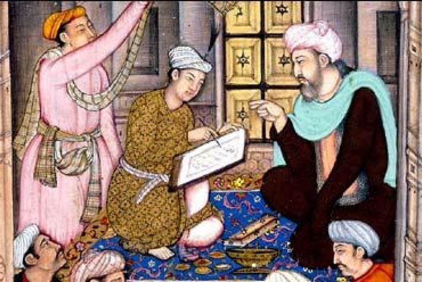 Praktik kedokteran Islam tempo dulu (ilustrasi).
