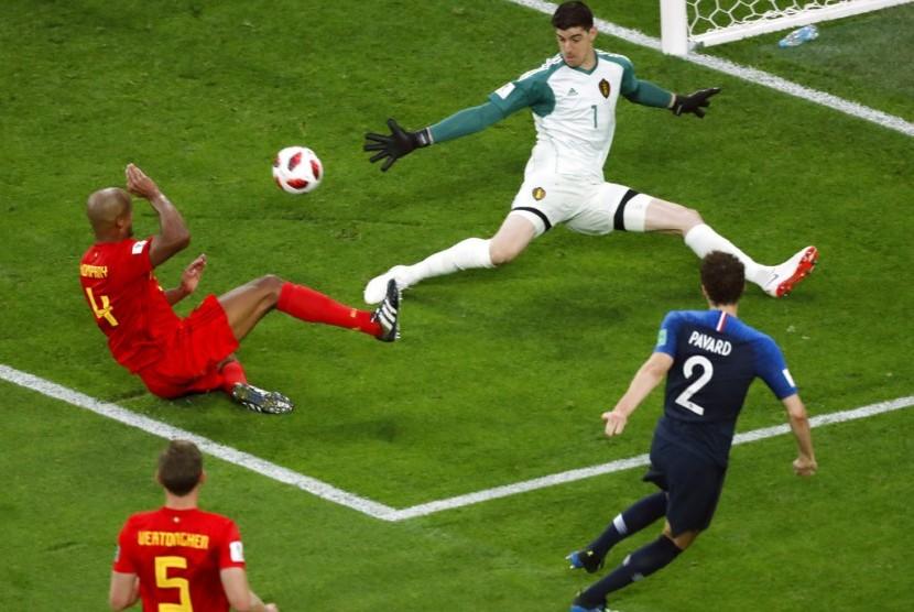 Prancis vs Belgia.