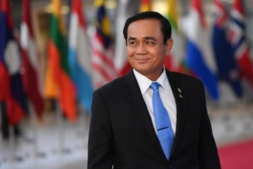 Prayut Chan-o-cha, perdana menteri Thailand terpilih.