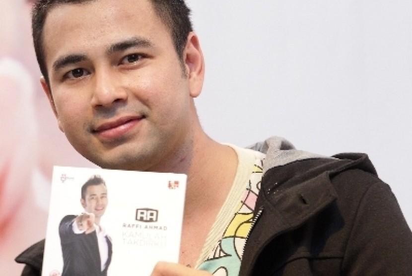 Presenter Raffi Ahmad.