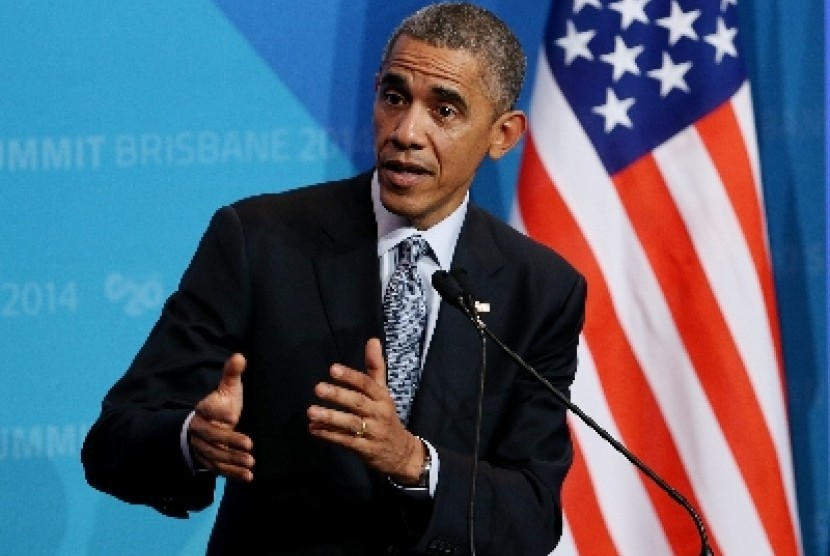 Presiden AS Barrack Obama.