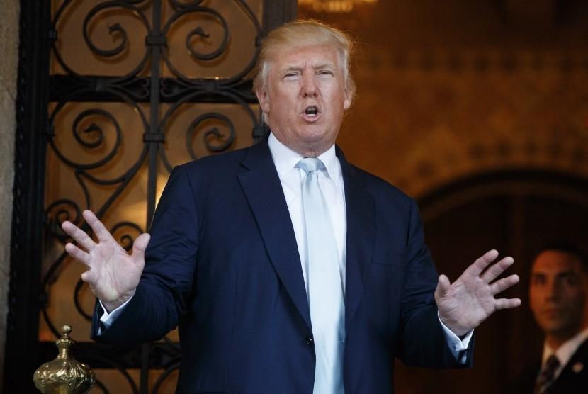 Presiden AS terpilih, Donald Trump