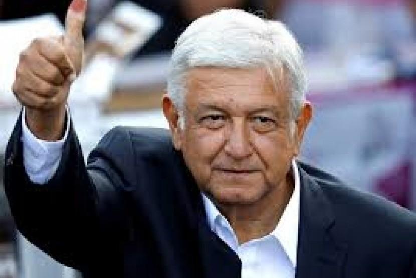 Presiden baru Meksiko, Andres Manuel Lopez Obrador