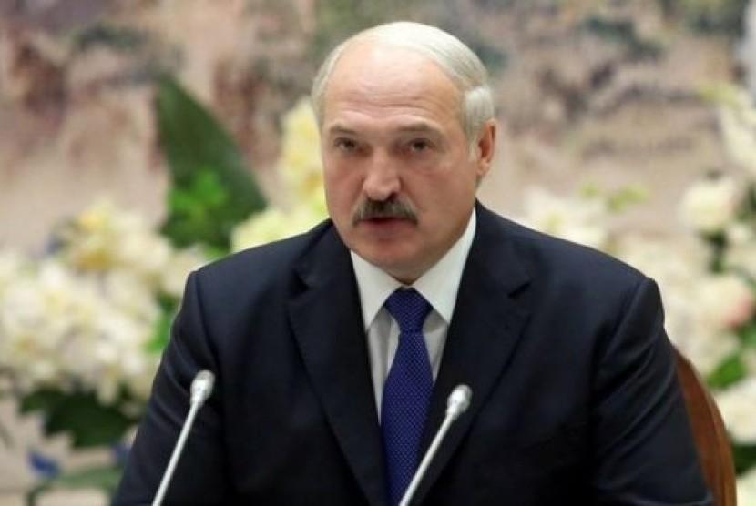 Presiden Belarusia Alexander Lukashenko.