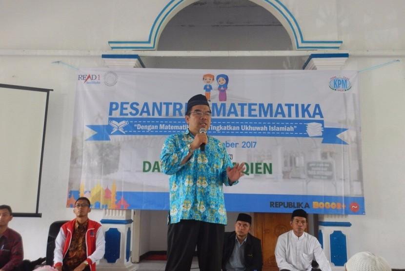 Presiden Direktur Klinik Pendidikan MIPA, Raden Ridwan Hasan Saputra