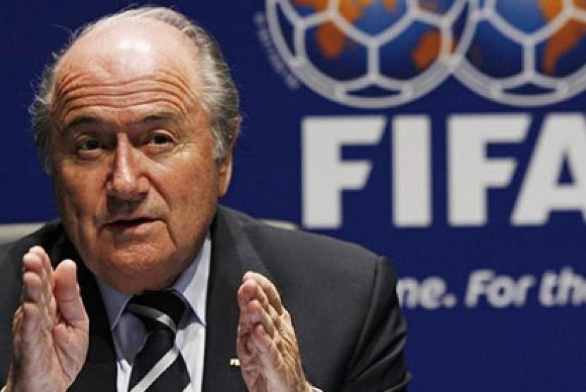Presiden FIFA, Sepp Blatter