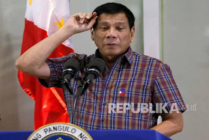 Presiden Filipina Rodrigo Duterte