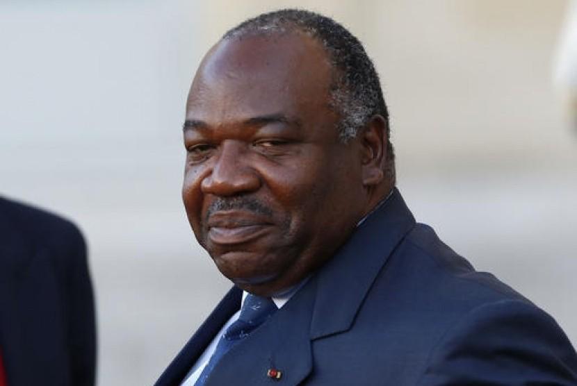 Presiden Gabon Ali Bongo Ondimb.