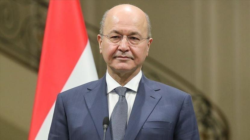 Presiden Irak Barham Salih