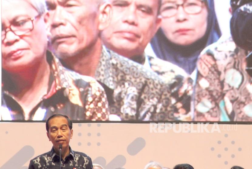 Calon Presiden nomor urut 01 Joko Widodo