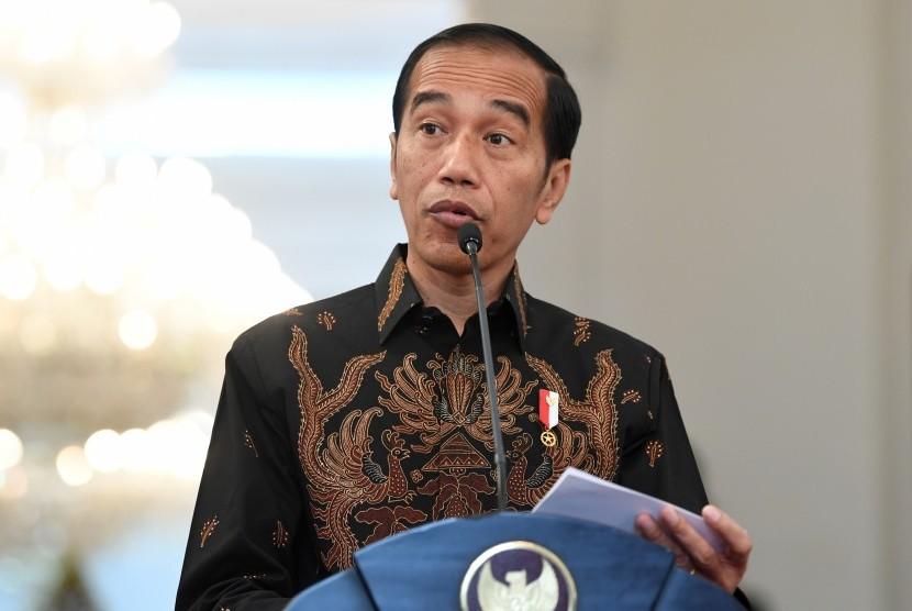 Incumbent President Joko Widodo