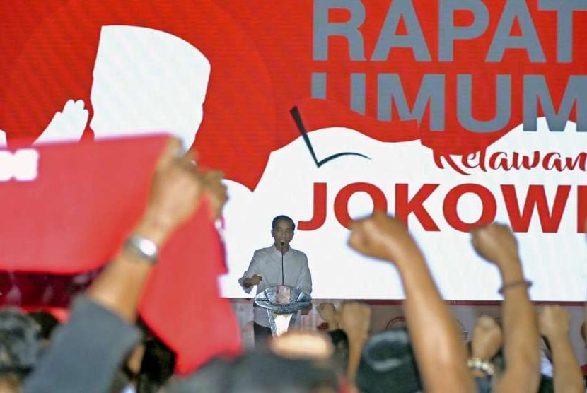Relawan Jokowi (ilustrasi)
