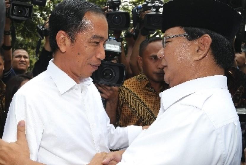 Joko Widodo dan Prabowo Subianto.