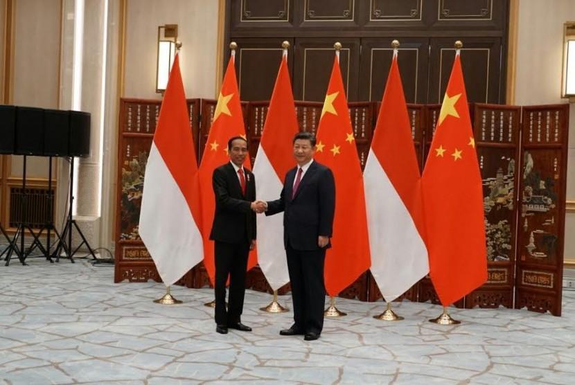 Presiden Jokowi bertemu Presiden Cina, Xi Jinping