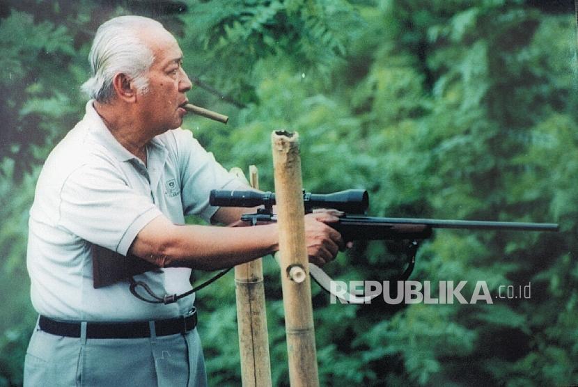 Presiden ke-2 RI, Soeharto.