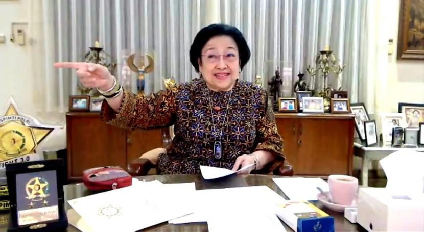 Presiden Kelima RI, Megawati Soekarnoputri.
