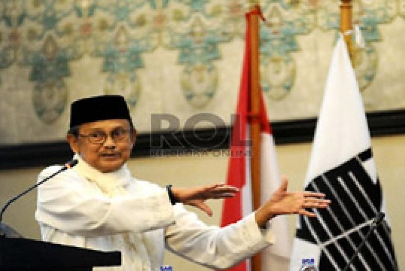 Presiden Ketiga RI, BJ Habibie