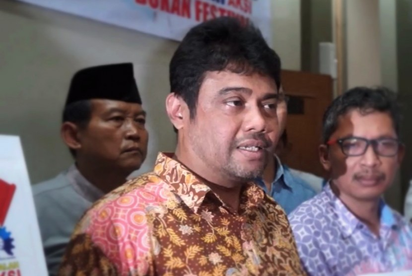 Presiden Konfederasi Serikat Pekerja Indonesia Said Iqbal