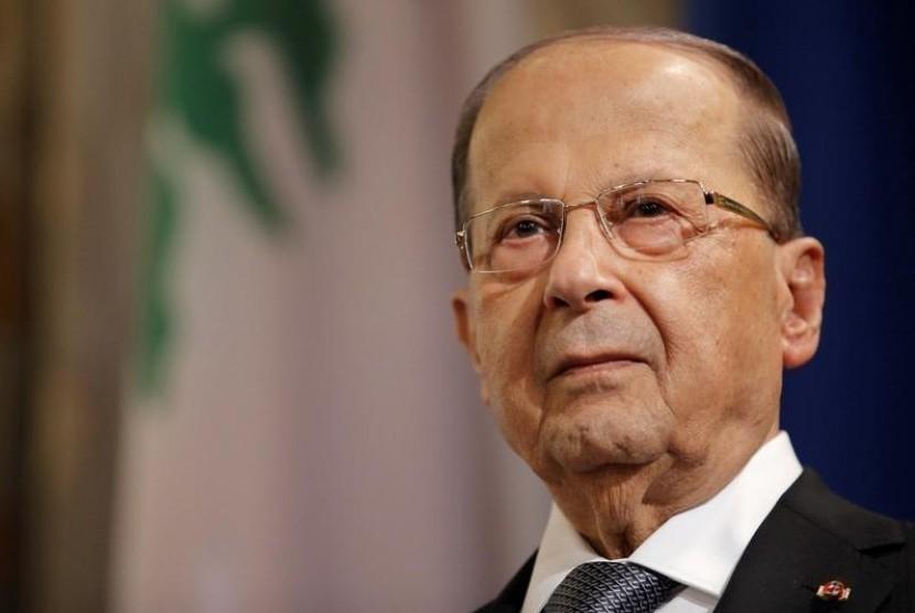 Presiden Lebanon Michael Aoun