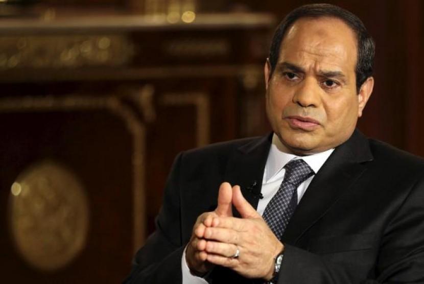 Presiden Mesir Abdel Fatah Al Sisi.