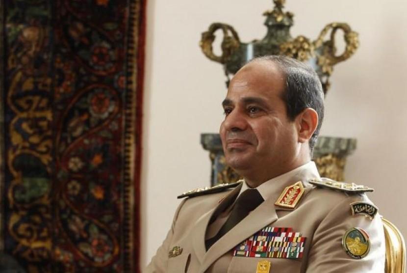 Presiden Mesir Jenderal Abdel Fatah al-Sisi.