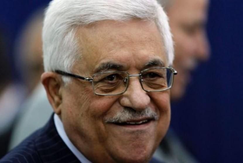 Presiden Palestina, Mahmoud Abbas.