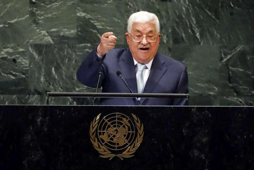 Presiden Palestina Mahmoud Abbas