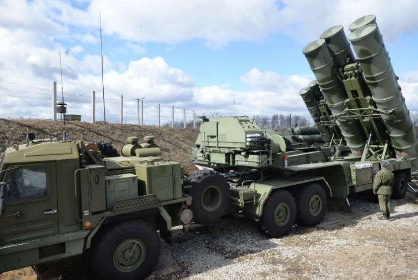 Rudal S-400  Rusia.