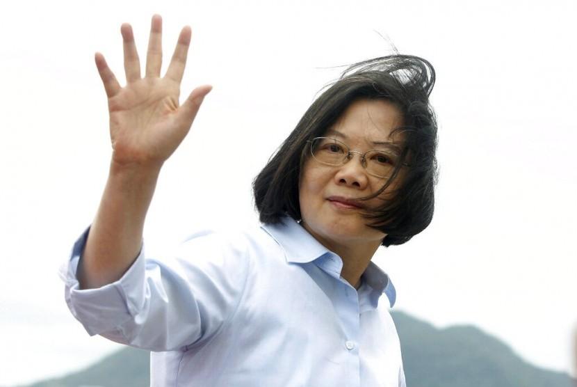 Presiden Taiwan Tsai Ing-wen.