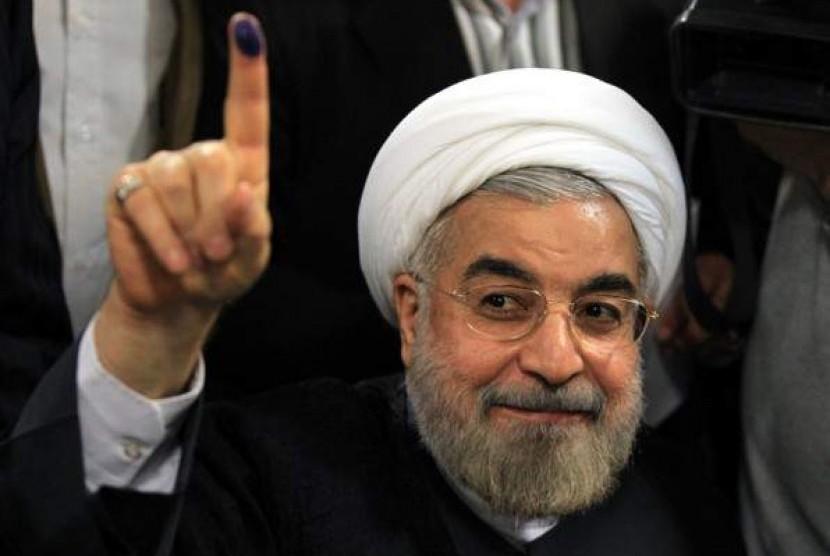 Presiden terpilih Iran, Hassan Rohani
