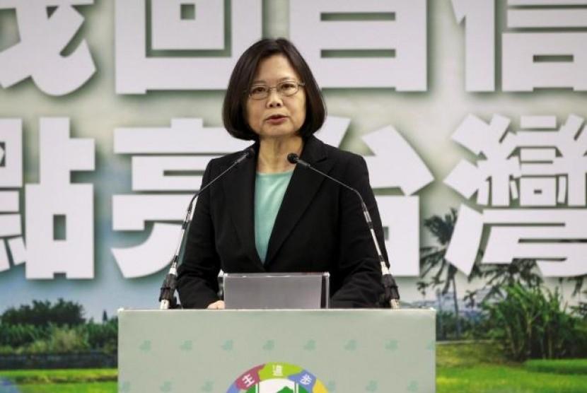 Presiden terpilih Taiwan Tsai Ing Wen.