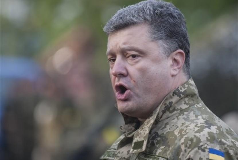 Presiden Ukraina Petro Poroshenko.