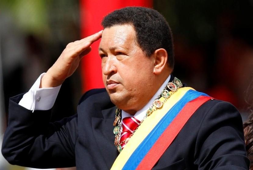 Presiden Venezuela, Hugo Chavez