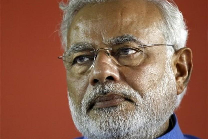 Perdana Menteri India Narendra Modi.