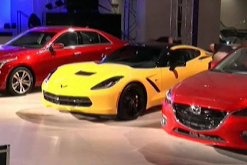 Produk industri otomotif AS.