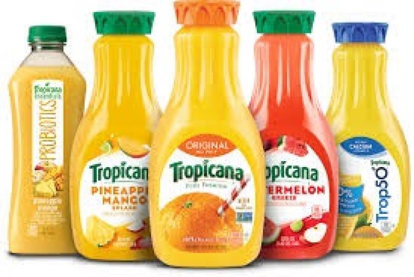 Produk minuman jus Tropicana.