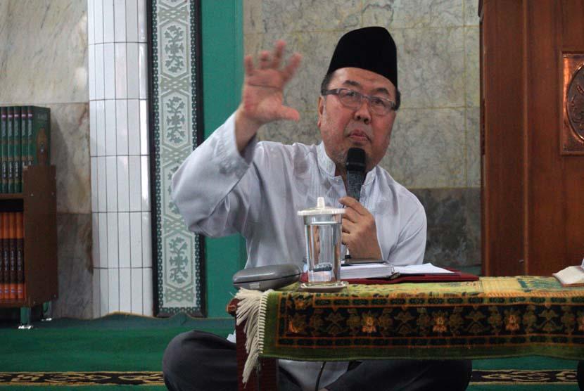 Covid-19 Jelang Ramadhan, Prof Didin Hafidhuddin: Tawakal