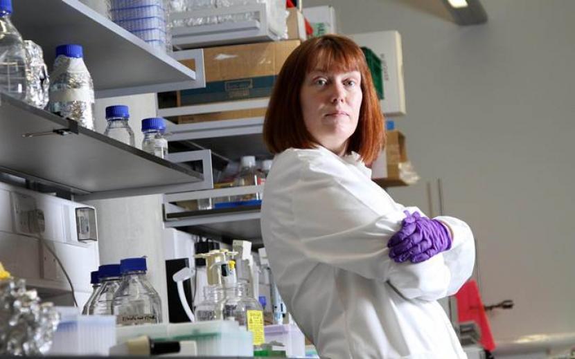 Prof Sarah Gilbert, penemenu vaksin AstraZaneka. Sebagai penghormatan, sosok Gilbert akan diabadikan dalam bentuk boneka Barbie.
