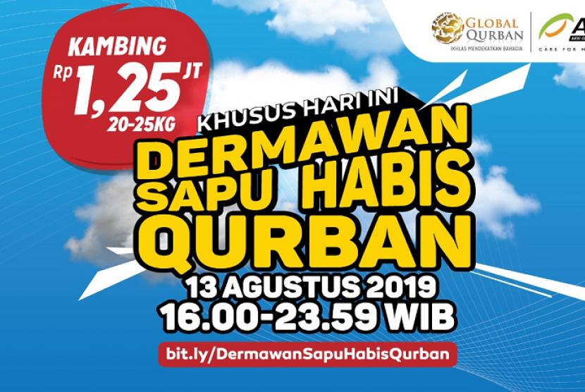 Program Dermawan Sapu Habis Qurban.
