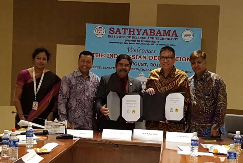 program study visit yang dilakukan melalui inisiasi Lembaga Layanan Pendidikan Tinggi (L2DIKTI) Wilayah III DKI Jakarta.