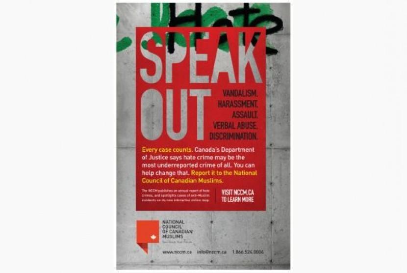 Promosi website anti Islamofobia di Kanada