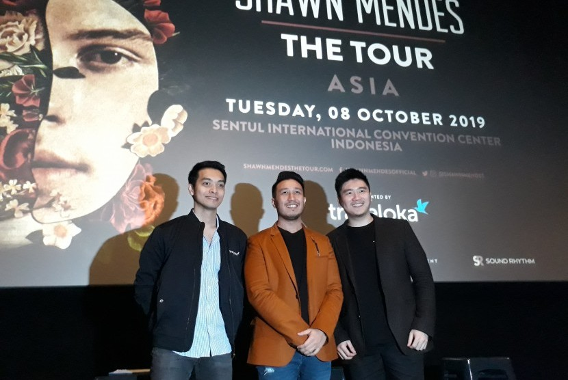 Promotor AEG Presents Asia, PK Entertainment, MTG, Sound Rhythm, dan Traveloka mengumumkan konser